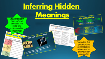 Inferring the Hidden Meanings in Texts!