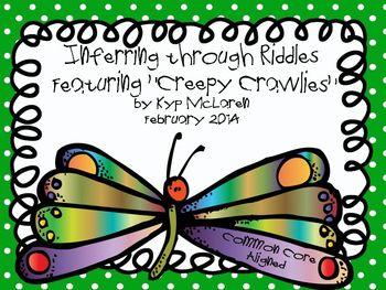 Inferring through Riddles Featuring Creepy Crawlies