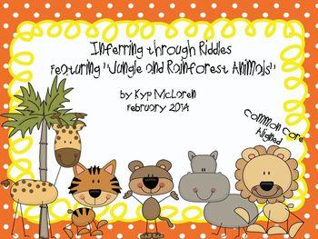 Inferring through Riddles Featuring Jungle & Rainforest Animals