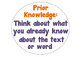 Inferring unknown words strategies