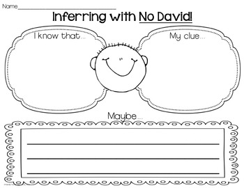 Inference Activities with David Shannon Books