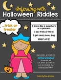 Inferring Riddles: {Lift the Flap!} Halloween Kindergarten & First Grade