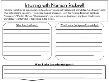 Inferences with Norman Rockwell