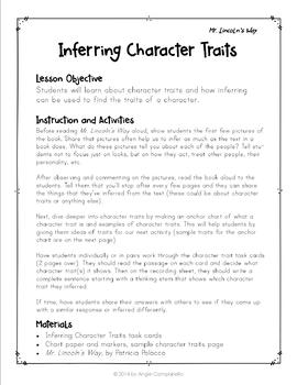Inferring with Patricia Polacco