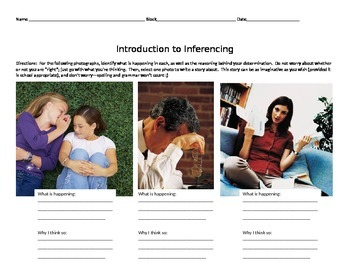 Inferring with Photographs (An Introduction)