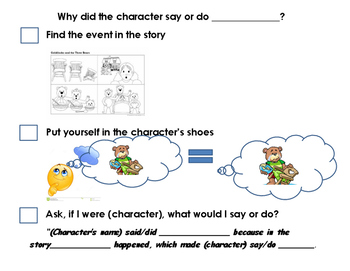 Inferring with Story Events and Character Action