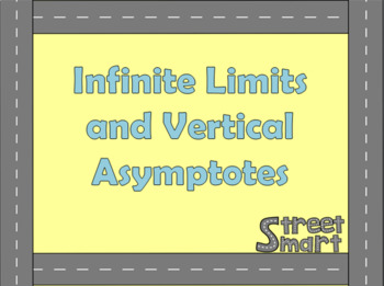 Infinite Limits and Vertical Asymptotes - Calculus PowerPoint