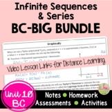 Infinite Sequences and Series BIG Bundle  (BC Calculus - Unit 10)