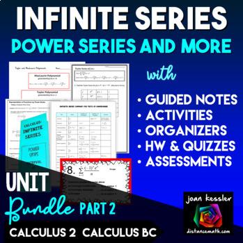 Infinite Series Bundle Part 2 for AP Calculus BC Calculus 2