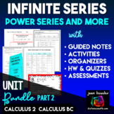 Infinite Series Bundle Part 2 for AP Calculus BC Calculus 2