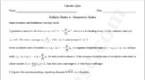 Infinite Series Quiz 4 - Geometric Series