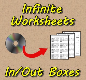 infinite worksheets in  out boxes math worksheet generator  originaljpg