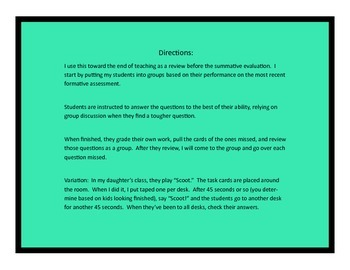 Infinitive Phrase Task Cards