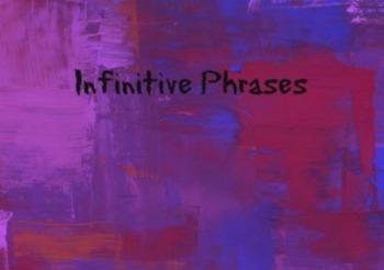 Infinitive Phrases