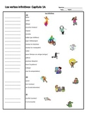 Realidades I. Chapter 1A Cornell Notes- infinitive verbs and gustar