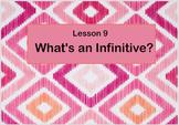 Infinitives Flipchart with Bonus Lesson:  Imperative Sentences