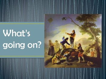 Infinitives - Goya Paintings