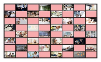 Infinitives of Purpose Legal Size Photo Checkers Game