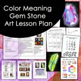 Infinity Stone Art Lesson Plan