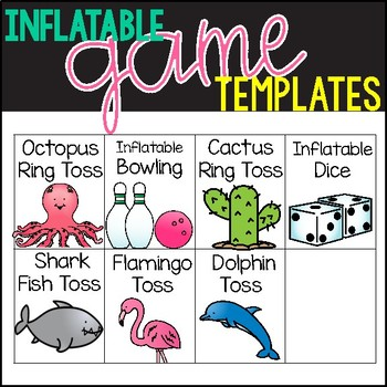 Inflatable Games: Editable Recording Pages