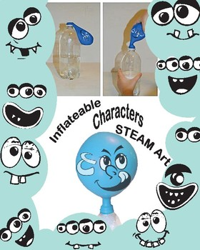 Inflated Characters Science + Art + Creative Writing Activity