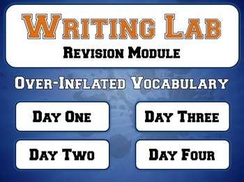 Inflated Vocabulary - Writing Lab Revision Module