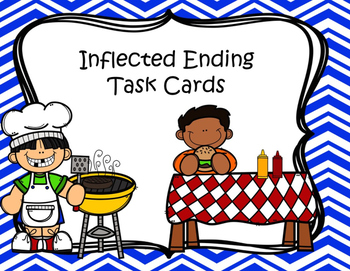 Inflected Ending Task Cards