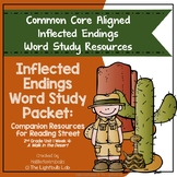 Inflected Ending Word Study Packet: A Walk in the Desert R