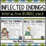 Inflected Endings BUNDLE Pack