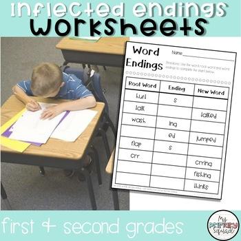 S, Ed, Ing Ending Worksheets & Teaching Resources | TpT