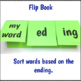 Inflectional Endings ed and ing Activities