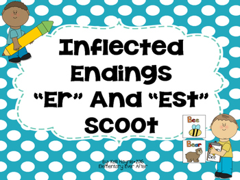 "Inflected Endings Write the Room (""-er"" and ""-est"")"