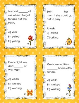 Inflectional Endings in Context