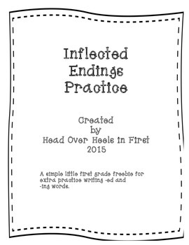 Inflected endings practice