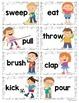 Inflectional Ending Game {ing} for Kindergarten & First Grade {Verbs}