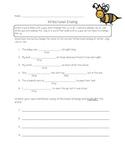 Inflectional Ending Worksheet