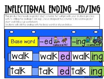 Inflectional Ending (-ed/-ing)