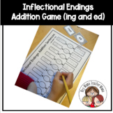 Inflectional Ending -ing and -ed Addition Sentences