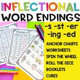 Inflectional Endings - Inflectional word Endings -s,-ed,-ing, -er, -st