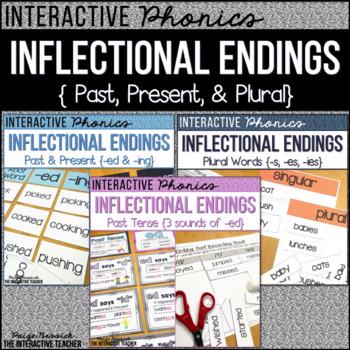 #SPRINGSAVINGS Inflectional Endings BUNDLE-Activities, Sorts & Worksheets