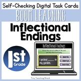 Inflectional Endings Boom Cards (Digital Task Cards)