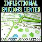 Inflectional Endings S ED ING Center