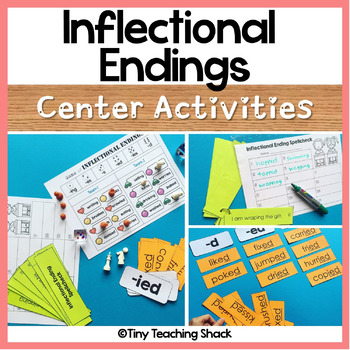 Inflectional Endings Center Activities