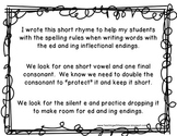 Inflectional Endings: How to spell with ed and ing