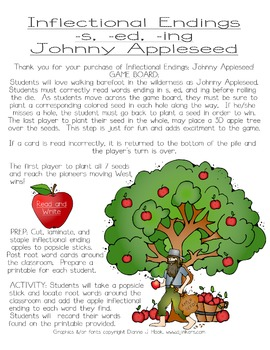 Inflectional Endings: Johnny Appleseed