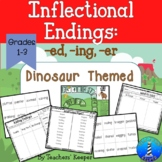 Inflectional Endings: Lesson Plans, Game, and Practice
