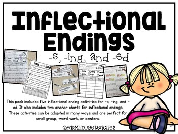 Inflectional Endings Mini Pack