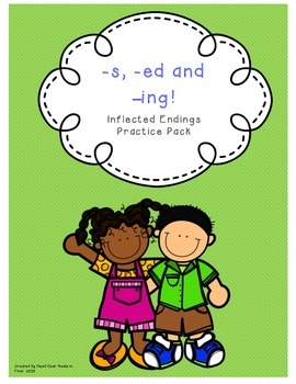 Inflectional Endings Pack