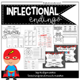 Inflectional Endings Pack { s, ed, ing } adding endings to base words