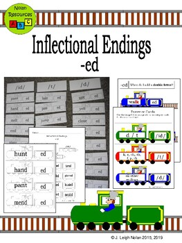 Inflectional Endings Packet - ED